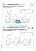 Mathematik, Geometrie, Raum & Form, Körperberechnung, Kegel, Volumen bestimmen, kegelvolumen
