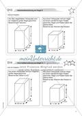 Aufgaben für eine Freiarbeit zum Thema: Geometrische Körper - Volumenberechnungen am Kegel. Preview 2
