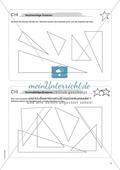 Mathematik, Geometrie, Winkel, rechter Winkel, dreiecke