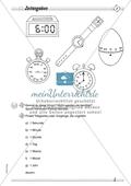 Größen und Messen: Zeitangaben Preview 1