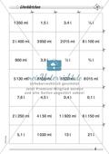 Messen und Größen: Hohlmaße - Maßeinheiten umwandeln in drei Schwierigkeitsstufen Preview 4