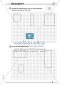 Den Flächeninhalt von Rechtecken durch Zählen von Rechenkästchen ermitteln und Figuren in passende Rechtecke unterteilen Preview 1