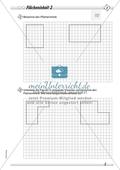 Den Flächeninhalt von Rechtecken durch Zählen von Rechenkästchen ermitteln und Figuren in passende Rechtecke unterteilen Preview 2