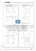 Umgang mit dem Geodreieck - Prüfen und Zeichnen von parallelen Linien Preview 3
