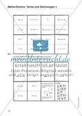 Algebra: Terme und Gleichungen Preview 1