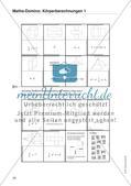 Mathematik_neu, Sekundarstufe I, Raum und Form, Geometrische Objekte, Körper und ihre Eigenschaften, Körpernetze
