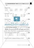 Teilbarkeit von natürlichen Zahlen: Klassenarbeit 1 (schwer) Preview 1