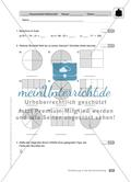 Einführung in die Bruchrechnung: Klassenarbeit 1 (schwer) Preview 1