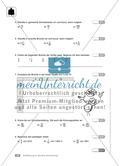 Einführung in die Bruchrechnung: Klassenarbeit 1 (schwer) Preview 2