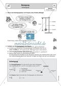 Bewegungen von Körpern - Experimente und Berechnungen zu Schwingungen Preview 1
