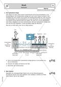 Hydraulik - Arbeitsblatt mit Erklärung und Aufgabe Preview 1