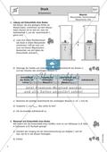 Schwimmen - Arbeitsblatt mit Aufgaben und Versuchen Preview 1