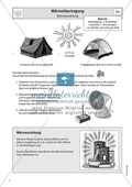 Wärmelehre - Versuch zur Wärmestrahlung Preview 1
