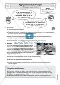 Aggregatzustände - Experimentelle Untersuchungen zum Schmelzen und Erstarren von Kerzenwachs und Blei Preview 1