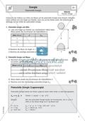Energie - Experimente und Erläuterungen zur potenziellen Energie Preview 1