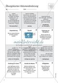 Übungskarten zur Volumenänderung bei verschiedenen Medien Preview 1