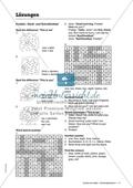 Number puzzles: Zahlen und ihr Schriftbild. Arbeitsmaterial mit Lösungen Preview 2