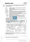 Sunshine kids: Zahlen und Hobbys. Arbeitsmaterial mit Lösungen Preview 1