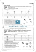 Farm animals: Logicals. Worksheets and solutions Preview 3