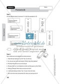 Grammar: pronouns. Worksheets and solutions Preview 2