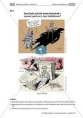 Karikatur: Allgemeine Informationen und schrittweise Analyse und Interpretation zweier Karikaturen Preview 1
