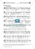 Der persisiche Markt - Arbeitsblätter mit Notenfassungen und Aufgaben zur musikalischen Darstellung der Markttreibenden. Preview 2