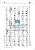 Der persisiche Markt - Arbeitsblätter mit Notenfassungen und Aufgaben zur musikalischen Darstellung der Markttreibenden. Preview 6