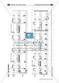 Der persisiche Markt - Arbeitsblätter mit Notenfassungen und Aufgaben zur musikalischen Darstellung der Markttreibenden. Preview 7