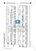 Der persisiche Markt - Arbeitsblätter mit Notenfassungen und Aufgaben zur musikalischen Darstellung der Markttreibenden. Preview 8