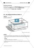 Bastel-Experiment - Arbeitsblatt mit Aufgaben zum