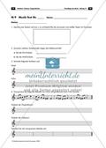 Musiktest mit Aufgaben zum Thema Tonleitern, Tonarten und Tongeschlechtern und Lösungen Preview 1