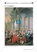 Händel - Arbeitsblätter mit Abbildung zu einem Hofkonzert, Infotexte zum Spätbarock, Zeitstrahl zur Barockzeit und Aufgaben Preview 1