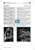Richtungen der Rockmusik - Arbeitsblätter mit Hörquiz zur Unterscheidung verschiedener Rockrichtungen, Lösung und Farbfolie Preview 2