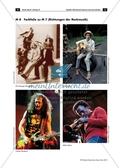 Richtungen der Rockmusik - Arbeitsblätter mit Hörquiz zur Unterscheidung verschiedener Rockrichtungen, Lösung und Farbfolie Preview 3