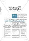 Fußball und Lyrik – kein Widerspruch Preview 1