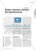 Denken, Sprechen, Handeln: Das Expertenmosaik Preview 1