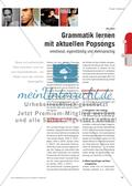 Grammatik lernen mit aktuellen Popsongs - emotional, eigenständig und mehrsprachig Preview 1