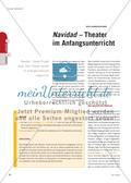 Navidad – Theater im Anfangsunterricht Preview 1