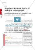 Aufgabenorientierter Spanisch - unterricht – ein Beispiel Preview 1