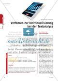 Verfahren zur Individualisierung bei der Textanalyse Preview 1