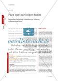 Para que participen todos - Gemeinsame Erarbeitung, Präsentation und Sicherung im Rahmen einer Sitcom Preview 1