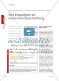 Eine Lernaufgabe zur mündlichen Sprachmittlung Preview 1