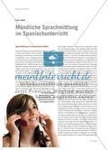 Mündliche Sprachmittlung im Spanischunterricht Preview 1