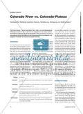Colorado River vs. Colorado-Plateau - Geologischer Wettstreit zwischen Hebung, Verwitterung, Abtragung und Sedimentation Preview 1