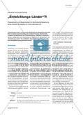 """""""Entwicklungs-Länder""""?! - Perspektiven und Möglichkeiten für die kritische Bewertung eines solchen Konzeptes im Erdkundeunterricht Preview 1"""