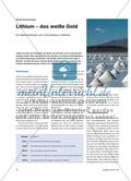 Lithium – das weiße Gold - Ein Stationenlernen zum Lithiumabbau in Bolivien Preview 1