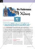 Die Fledermaus Klaus - Liedbegleitung mit Fledermäusen und Boomwhackers Preview 1