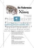 Die Fledermaus Klaus - Liedbegleitung mit Fledermäusen und Boomwhackers Preview 3