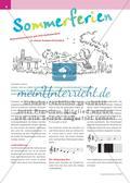 Sommerferien - Klassenmusizieren mit Orff-Instrumenten Preview 1