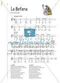 La Befana - Klassenmusizieren zu einem Weihnachtslied aus Italien Preview 5